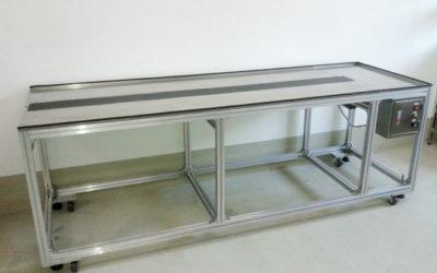 CBV – Packtisch mit Transportband